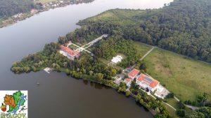 2017 - Palatul Snagov > Vedere aeriană